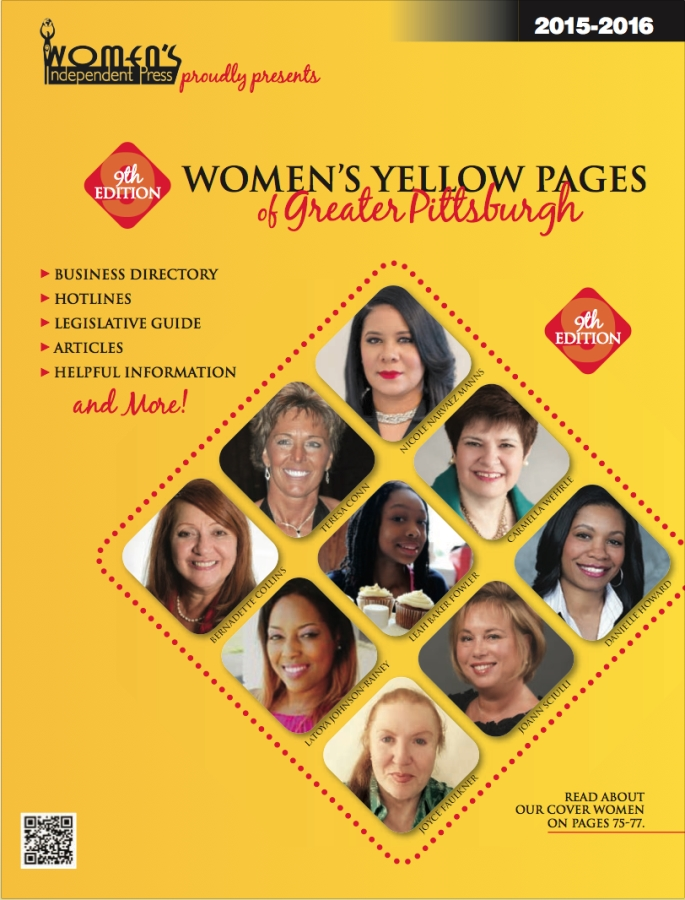 A link to the 2016 Women's Yellow Pages of Greater Pittsburgh