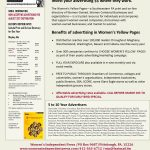 Why should you invest your advertising $$ in the Women's Yellow Pages #11 ?